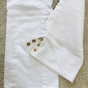 Tory Burch Crop Flare Jeans